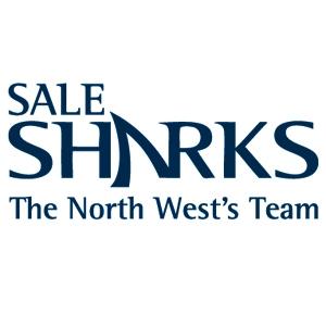 We are Sale Sharks Logo blue